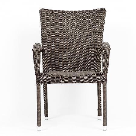 Atlantic Bari Stackable Armchairs, 4-Pack