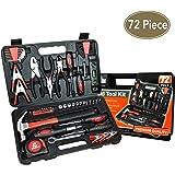 KIngOrigin Professional Multi-Tool Kit home repair tool kit tool kit 72Piece 80002M