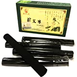 HenMerry High Quality Smokeless Pure Moxa Stick Moxibustion Sticks 10 Rolls Five Year Purity