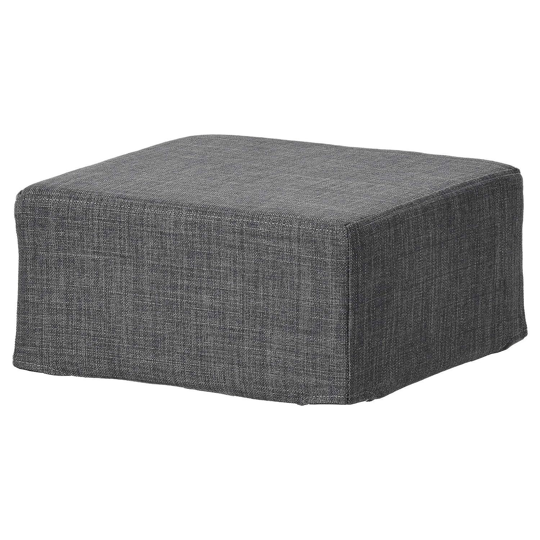 Lime Cotton Custom Slip Cover for Ikea Klippan Footstool Sofa Cover Foot Stool