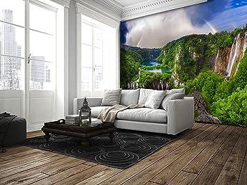 3D Belag Dekor Boden Vinyl PVC Bodenbelag Wohnzimmer Teppich Büro Aufkleber  Fliesen Kunst Wand Leben Bild