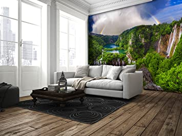 Ruvitex D Decor D Belag Dekor Boden Vinyl PVC Bodenbelag - Fliesen oder vinyl im wohnzimmer
