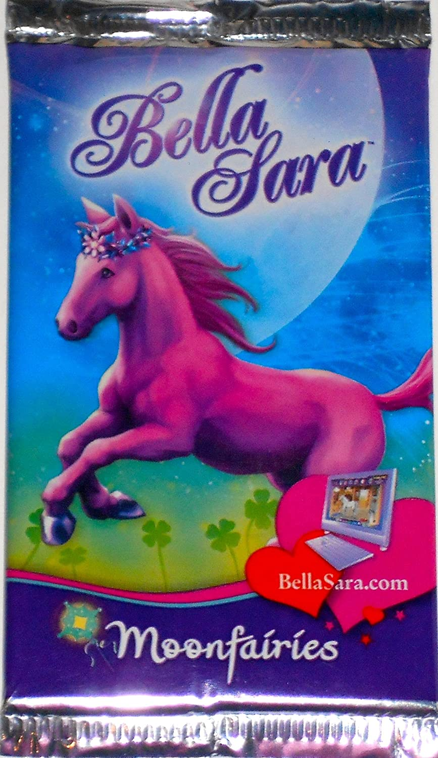 Bella Sara Trading Cards 2nd Series all 4 covers 4 packs