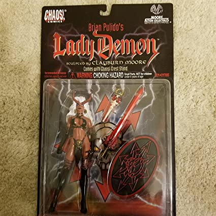 Lady Death Bronze Age Chaos Comics Figure Brian Pulido Toy Weapons