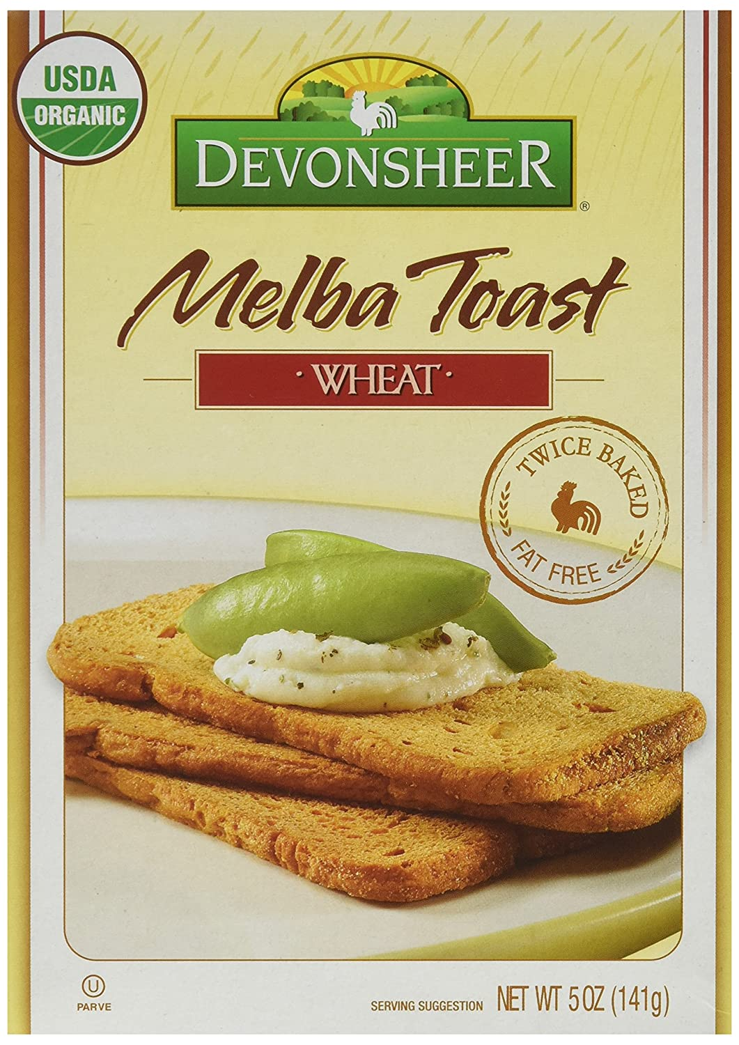 Devonsheer Whole Wheat Melba Toast 5 Ounce Boxes Pack Of 12 Amazon Grocery Gourmet Food