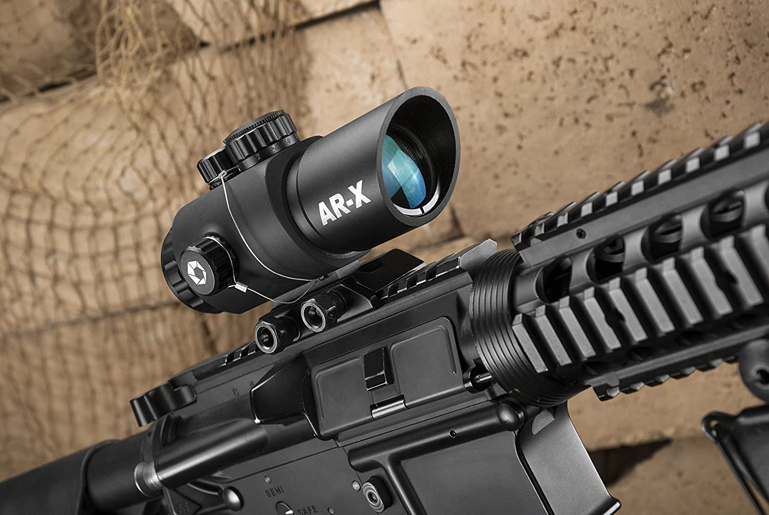 FITCO 4-16x40 Side Focus Tactical Rifle Scope