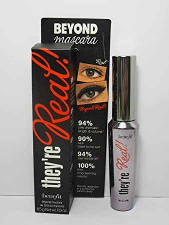 Amazon.com : Benefit Cosmetics They're Real! Mascara (BLACK) Full ...