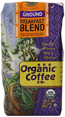 Organic Coffee Co. Ground, Breakfast blend