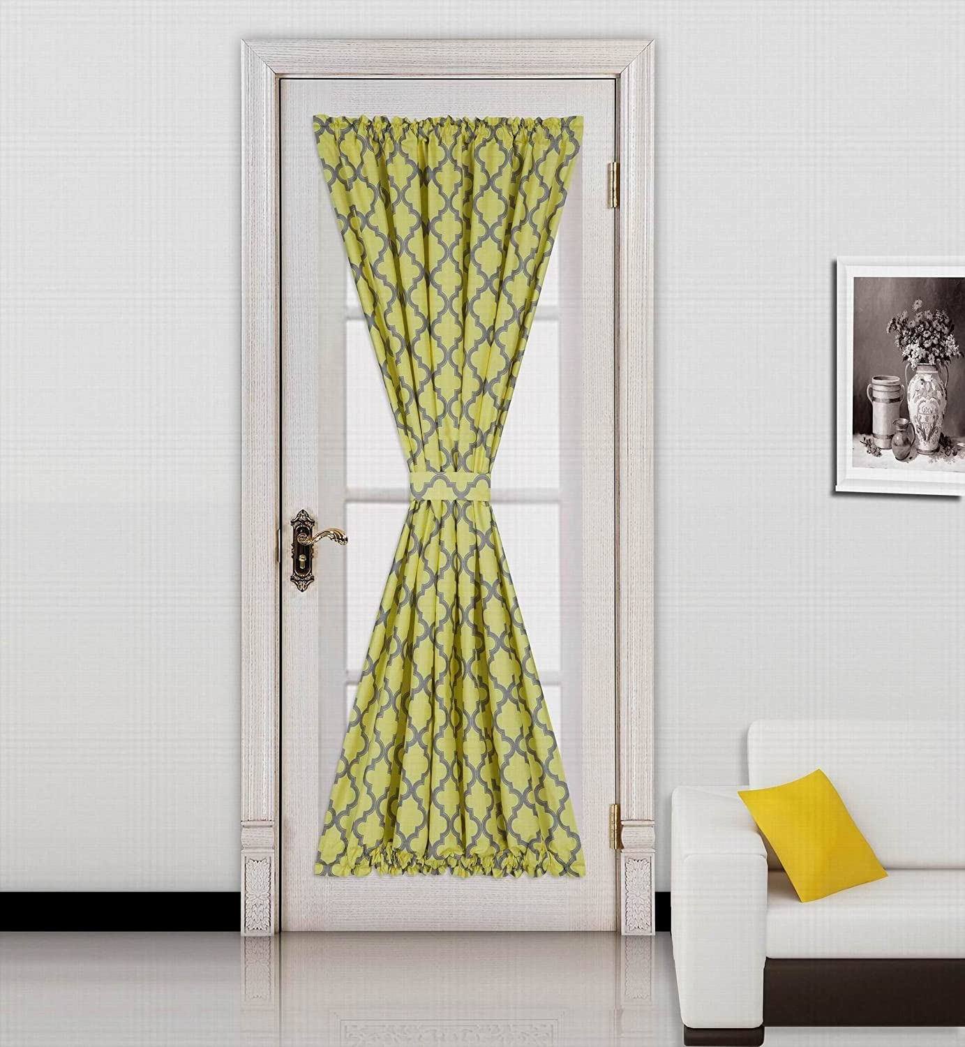 Foam Backing Insulated Thermal Blackout Rod Pocket Curtain Panel