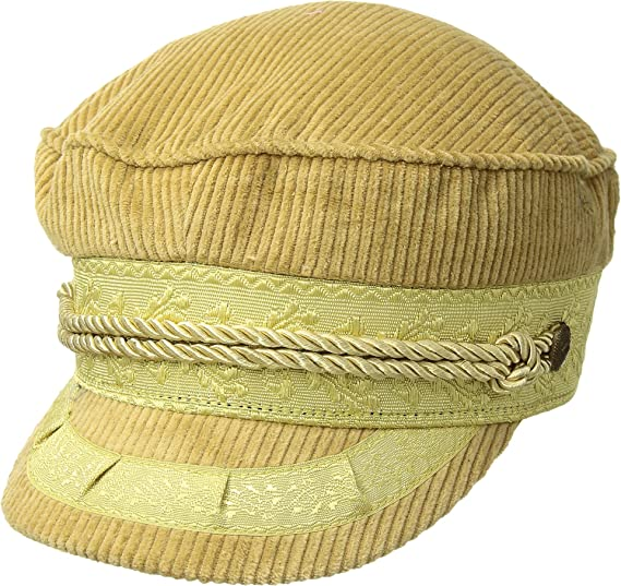 6ea6fad8 Image Unavailable. Image not available for. Colour: Brixton Women's Albany  Cap Mustard Cord ...