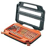BLACK+DECKER Accessory Set in Carry Case - 35 Piece