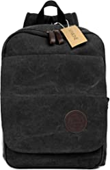 Winkine Canvas Backpack Shoulder Bag - College Backpack - Outdoor Bag - Fit  15