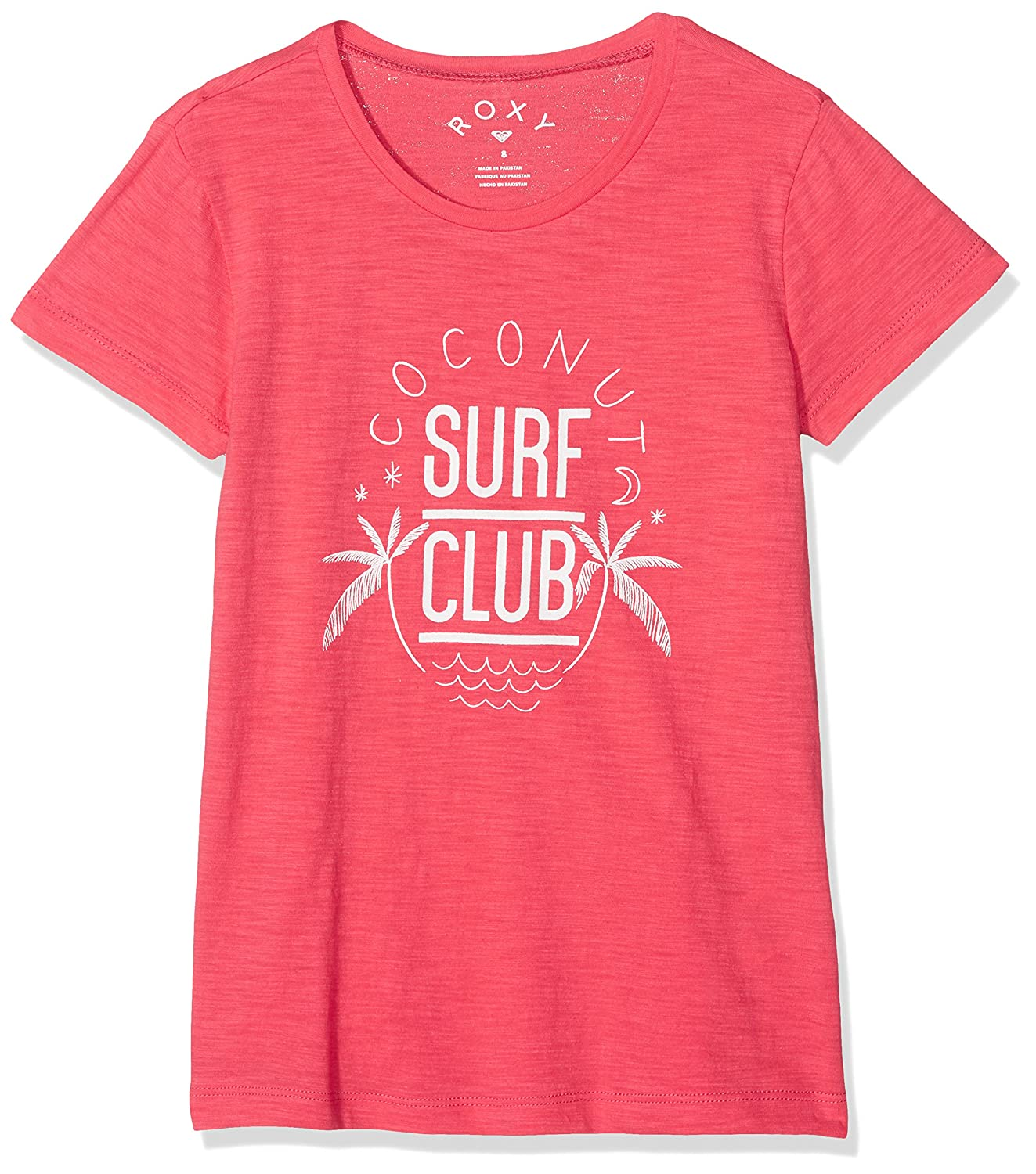 Roxy Endless Music Coconut Surf Club Camiseta, Niñas Napali ERGZT03274