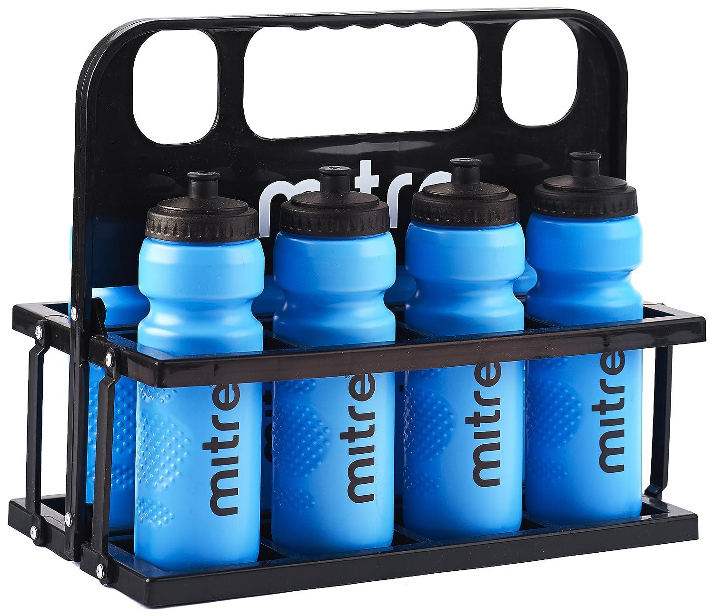 Mitre Botellas de agua de 80 cl y caja de plástico: Amazon.es: Deportes y aire libre