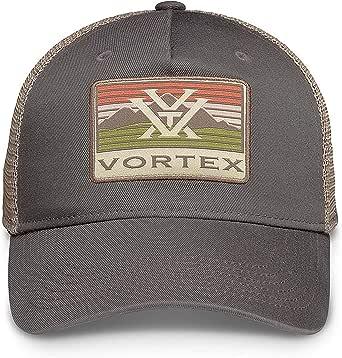 Vortex Men's Mountain Patch Hat, Brown, Adjustable