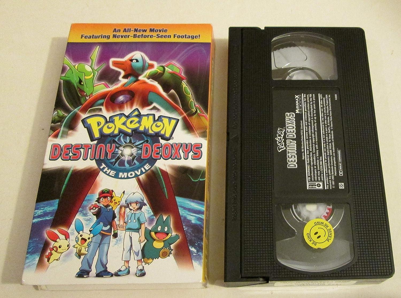 Amazon Com Pokemon Destiny Deoxys The Movie Movies Tv