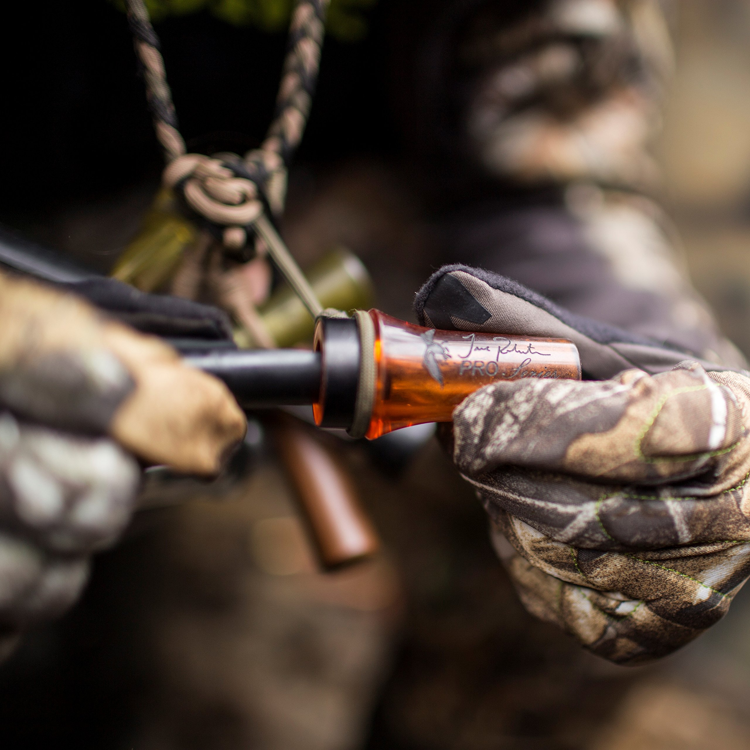 DUCK COMMANDER Jase Robertson Pro Series Duck Call, Orange Acrylic by DUCK COMMANDER (Image #4)