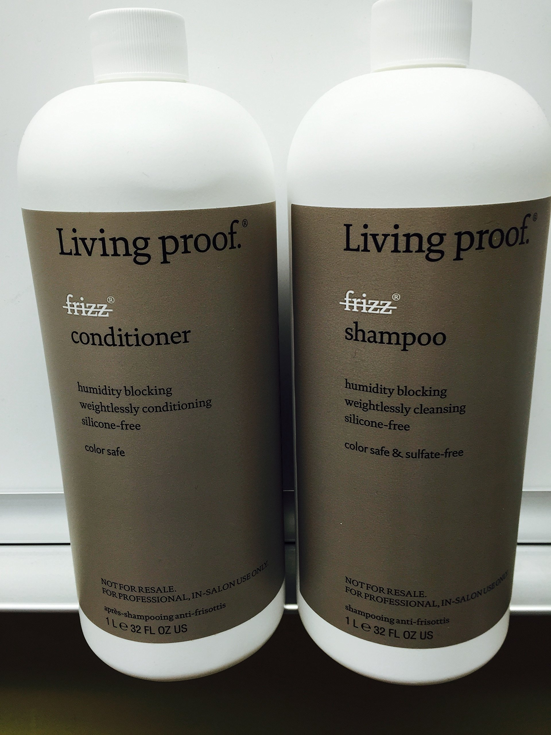 Living Proof Professional Frizz Shampoo 32oz and Frizz Conditioner 32oz Duo