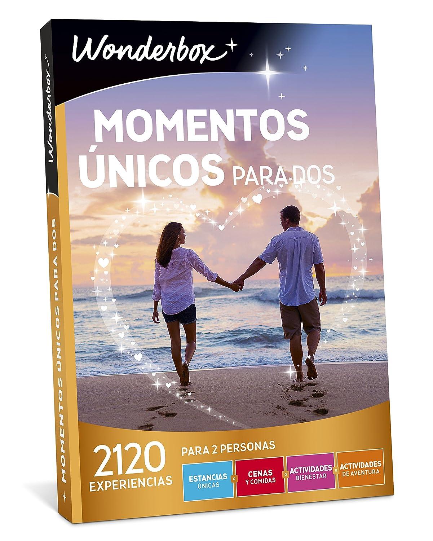WONDERBOX Caja Regalo -Momentos ÚNICOS para Dos- 2.120 experiencias para Dos Personas: Amazon.es: Juguetes y juegos
