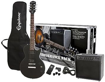 Epiphone Guitarra Pack serie ppeg-egl2ebch1 guitarra eléctrica Pack: Amazon.es: Instrumentos musicales