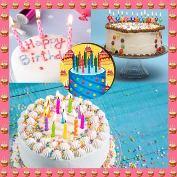 Amazon Birthday Cake Photo Collage Appstore For Android