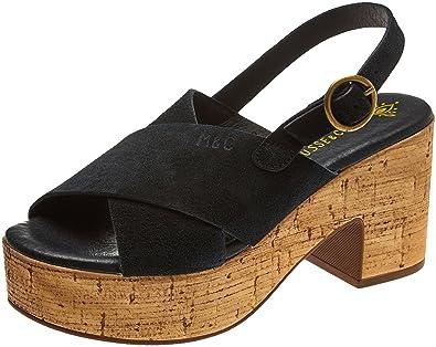 Womens Ivory Platform Sandals Musse & Cloud VYe1qbe4F