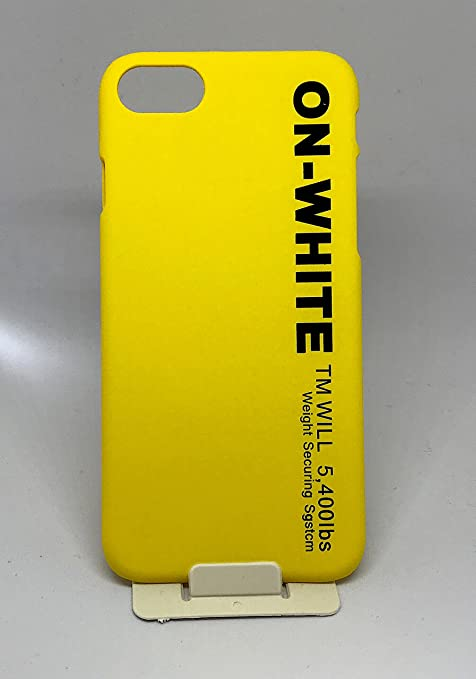 coque iphone 6 jaune noir