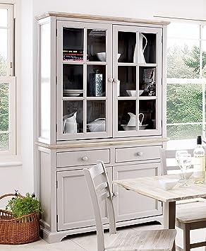 Florence Display Cabinet, Large Truffle Kitchen Dining Dresser ...