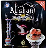 Alshan Silver Foils / Aluminium Foil For Hookah 50Pc. (Free Foil Pin Inside)