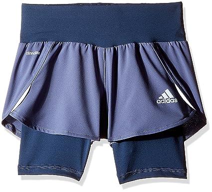 Adidas Girls Running Short 9-10 years Purple  Amazon.co.uk  Clothing a3f34ea627
