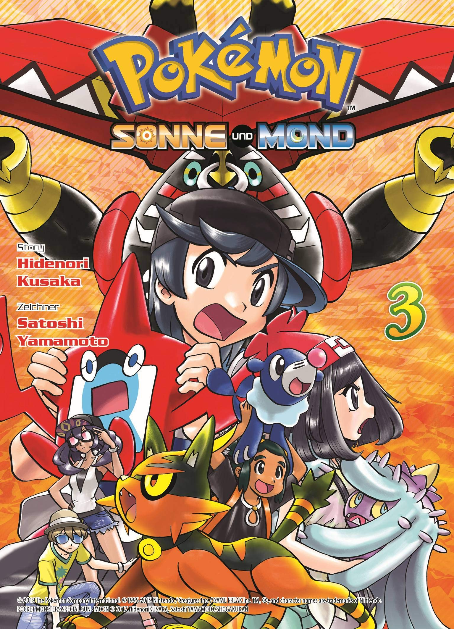 Pokémon   Sonne Und Mond  Bd. 3