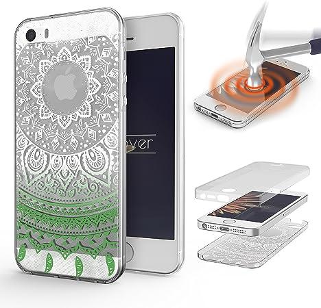 Urcover Cover 360 Mandala per Apple iPhone SE 5 5s | Custodia ...