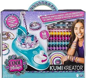 Cool Maker KumiKreator Friendship Bracelet Maker, Quick & Easy Activity Kit for Kids Ages 8 and Up