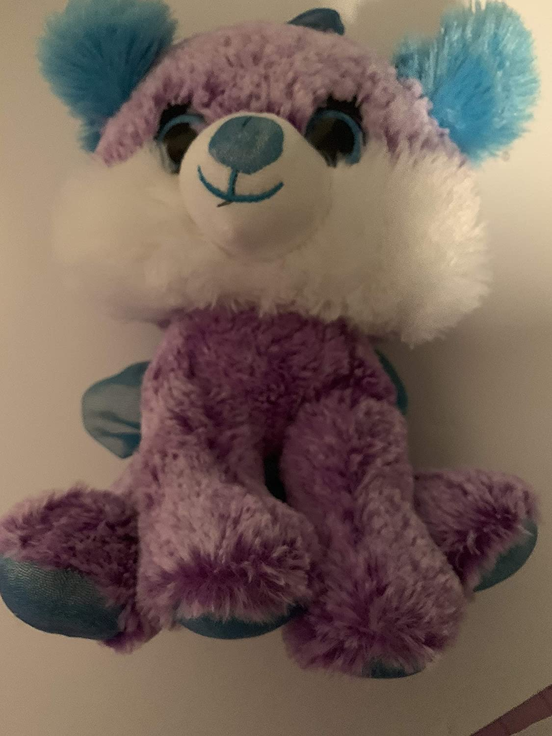 purple bear 2.5 lbs sensory toy washable weighted buddy Weighted stuffed animal