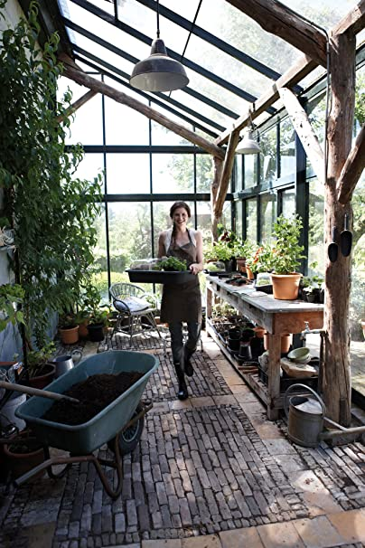 Elho Green Basics Garden Tray - Living Black - Interior & Exterior - L 41.9 x A 59 x A 11.1 cm: Amazon.es: Jardín