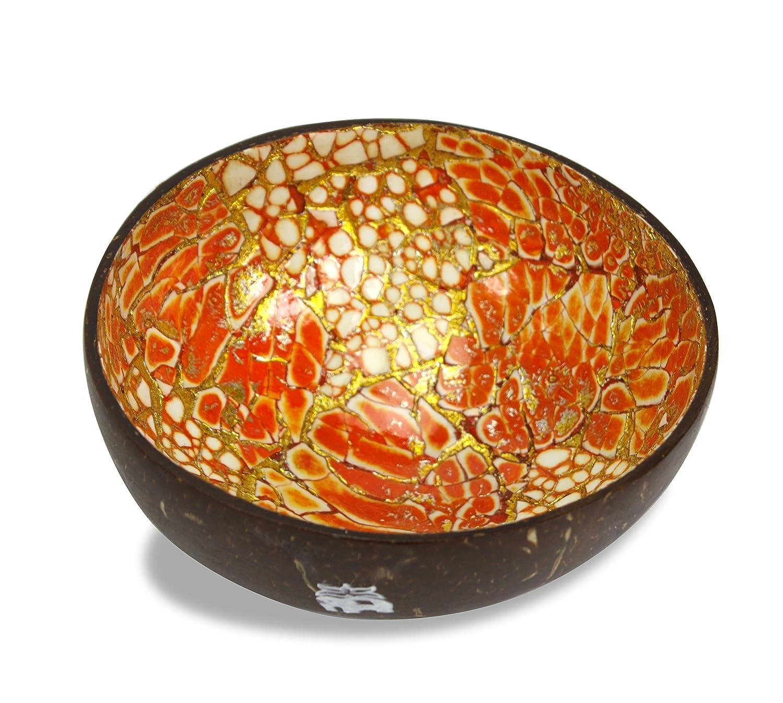 Cuenco tailandés de corteza de coco, diferentes colores disponibles: Amazon.es: Hogar