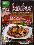 Bamboe - は、rendang - インドネシアのドライカレーペースト - インドネシアのインスタントスパイス - 6 x 1.2オンス/ 36 g - インドネシアの産物