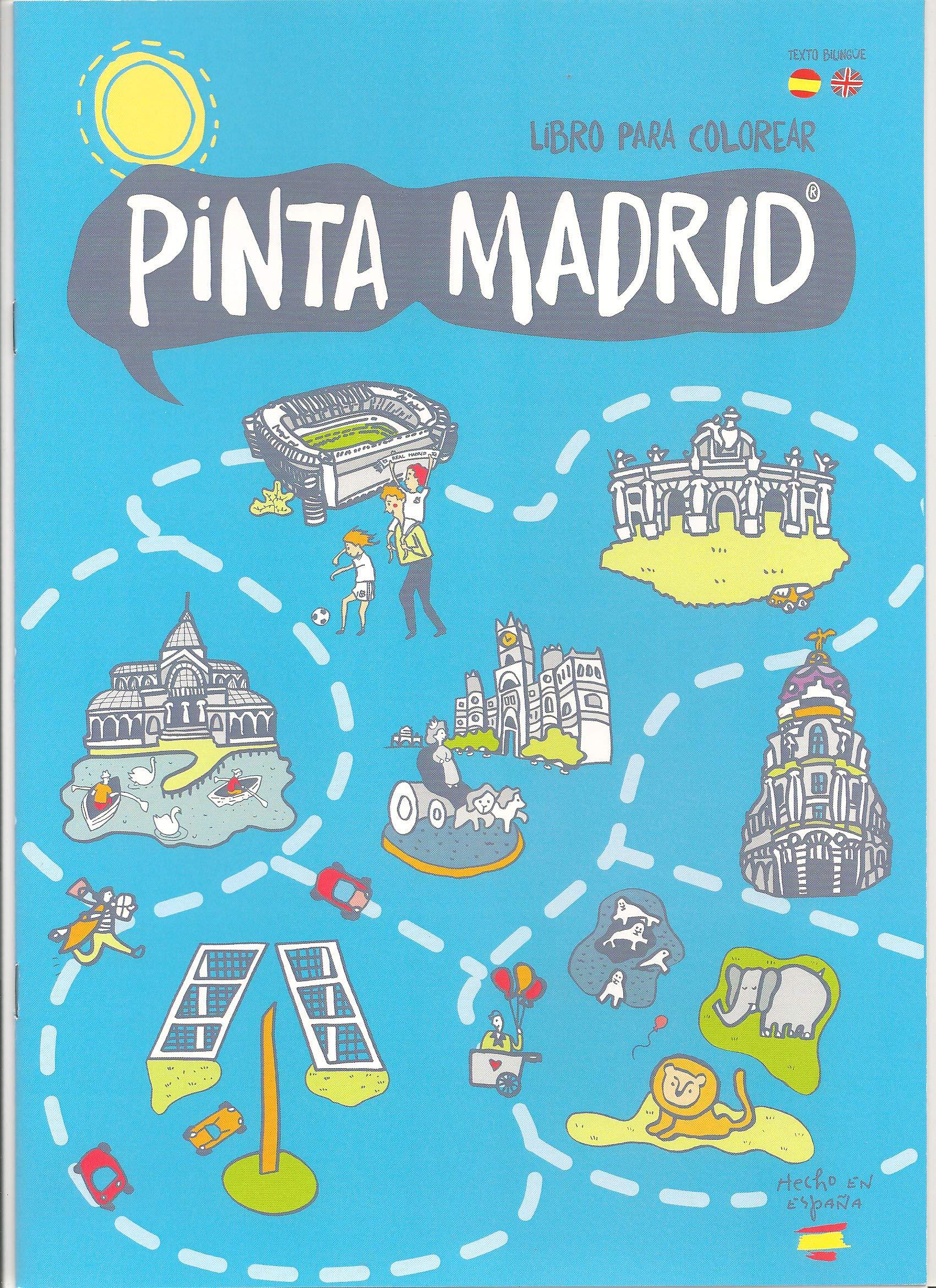 Pinta Madrid: Amazon.es: Oscar Sanchez Martin, Mercedes diaz Villarías: Libros