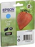 Epson Claria Home 29 - Cartucho de tinta estándar de 3,2 ml, paquete estándar, color cian
