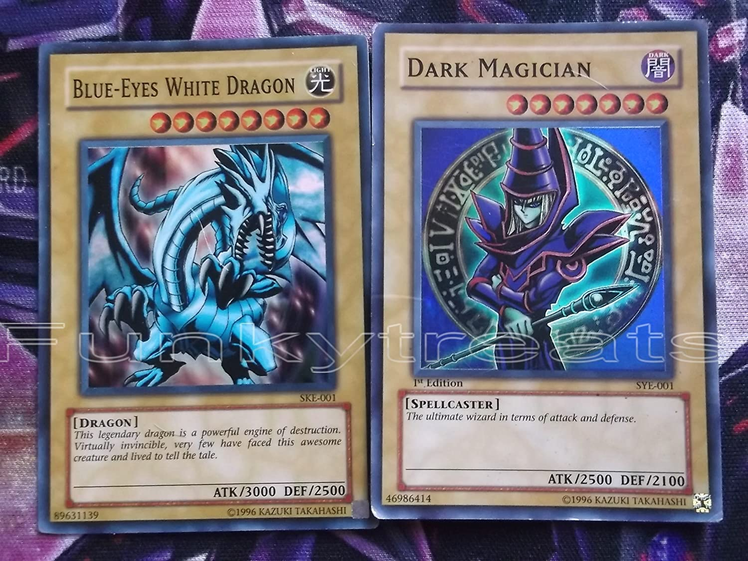 amazon com yu gi oh blue eyes white dragon ske 001 super rare