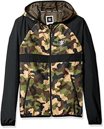 08a532ddecc4 adidas Originals Men s Skateboarding Windbreaker Jacket at Amazon ...