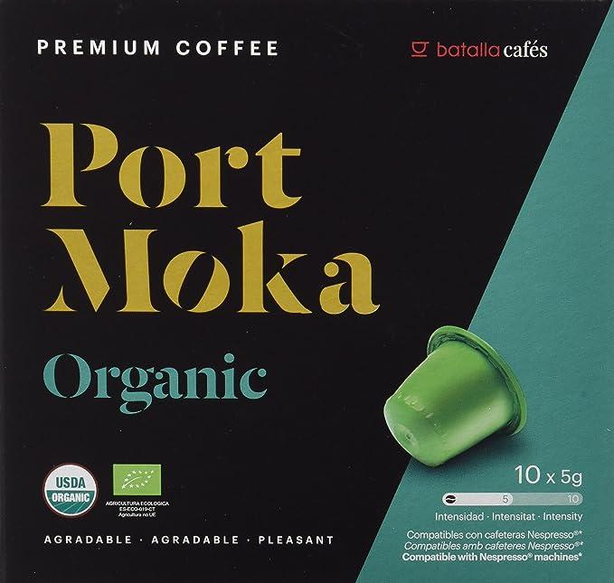 Port Moka Cápsulas de Café 100% Orgánico Arábica Compatibles con ...