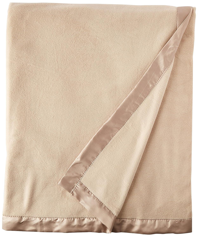 82c91b7e88 Amazon.com  True North by Sleep Philosophy Micro Fleece Luxury Blanket  Green 9090 Full Queen Size Premium Soft Cozy Mircofleece For Bed