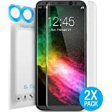 """Galaxy S8 Screen Protector, Maxboost Liquid Skin [2 Pack] [Full Screen] Samsung s8 Wet Applied Screen Protector Flexible TPU film with Spray & Squeegee for Samsung Galaxy S8 5.8"""" Screen (2017)"""