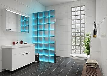 Light My Wall Duschabtrennung Aus Glasbausteinen Mit Integrierter
