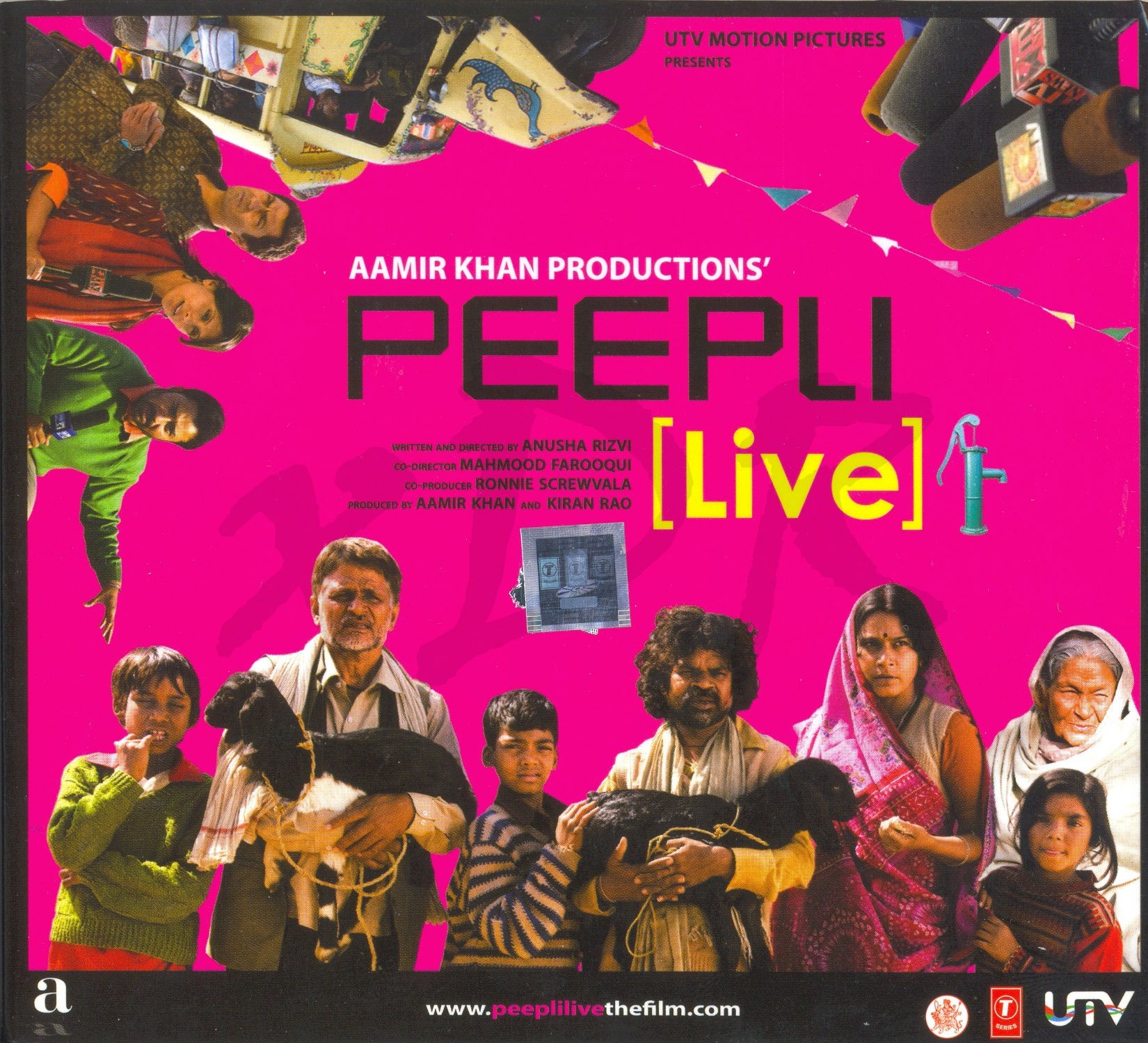 Peepli [Live] (New Hindi Film Songs / Bollywood Movie Soundtrack / Indian Cinema Music CD)