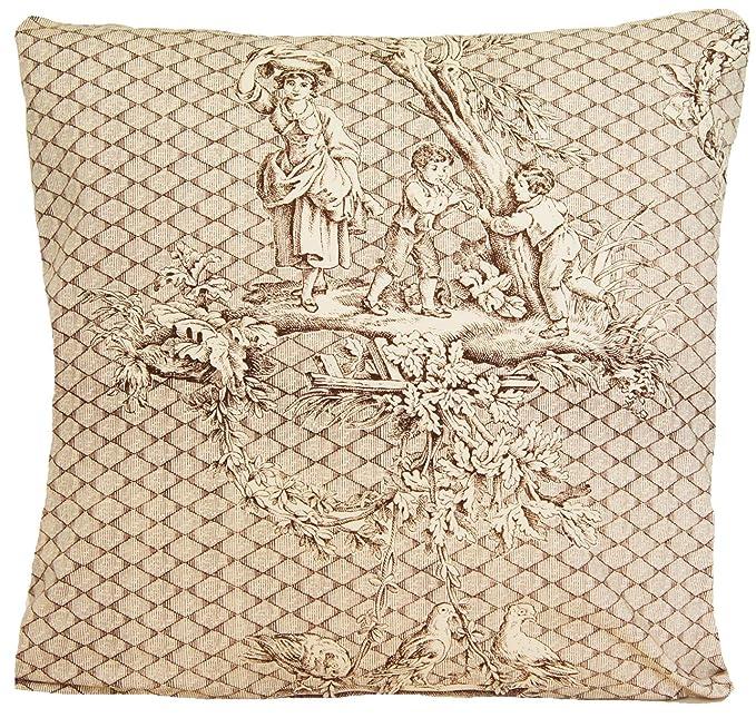Amazon.com: Francés Toile diseño tradicional decorativo ...