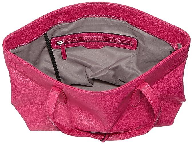 fuchsia Borsa L rosa Rosa Shopper Donna 44x28x12 crediprag Sw4xF4AqY