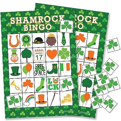 Image result for shamrock bingo