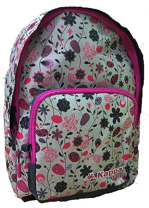 Mochila Kappa Glamour Flowers 42cm